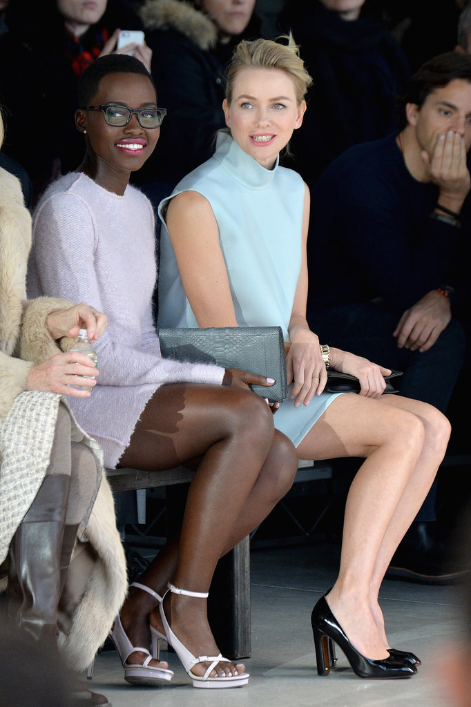 Lupita-Nyongo-Naomi-Watts-watched-Calvin-Klein-show-together