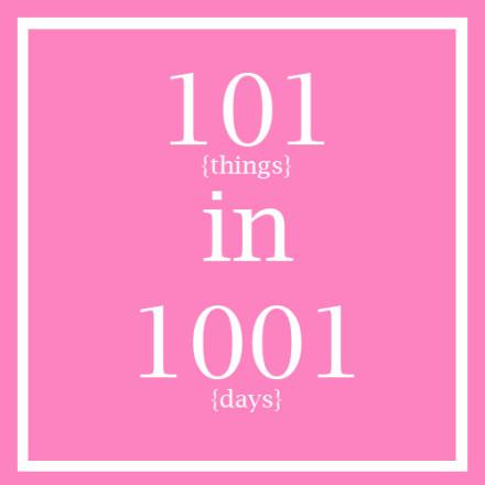 Bonjour Blue 101 in 1001 Days