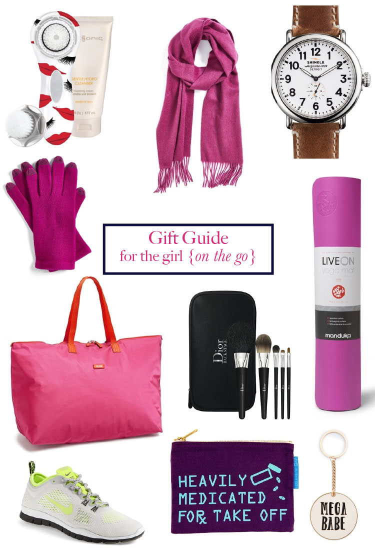 gifts for the girl on the go