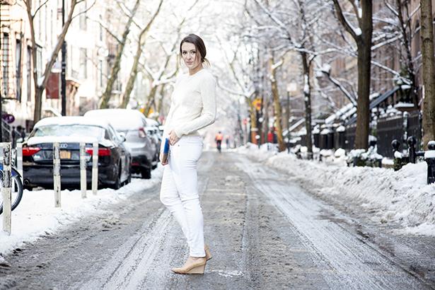 Bonjour Blue Winter Whites