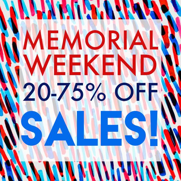 Memorial Weekend Sales