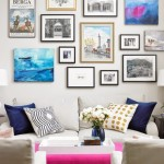 Bonjour Blue- Gallery Wall