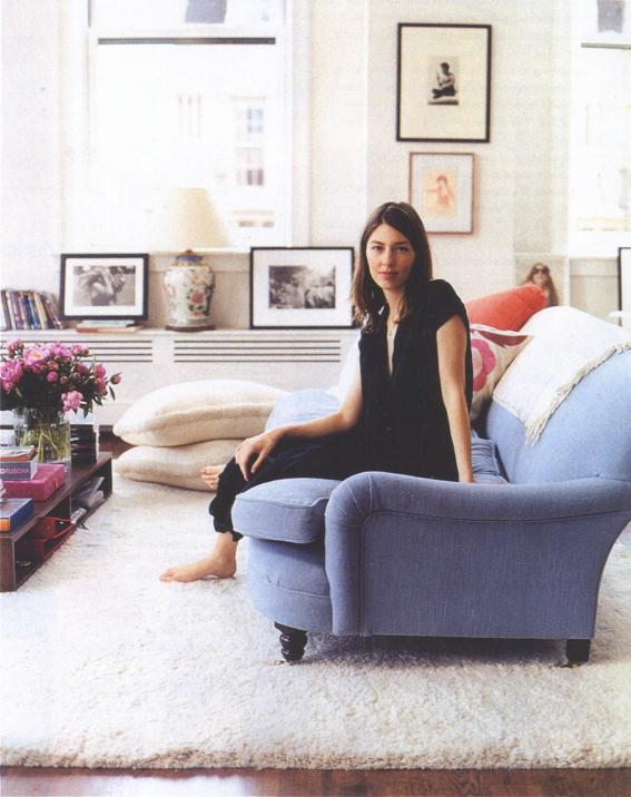Apartment Envy Sofia Coppola Bonjour Blue