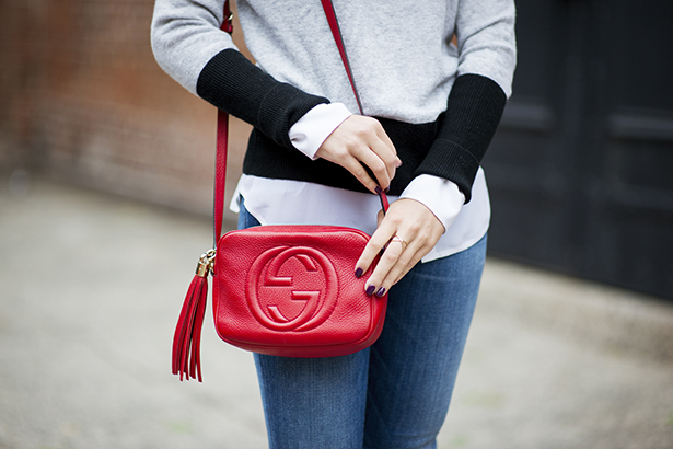 gucci soho red bag
