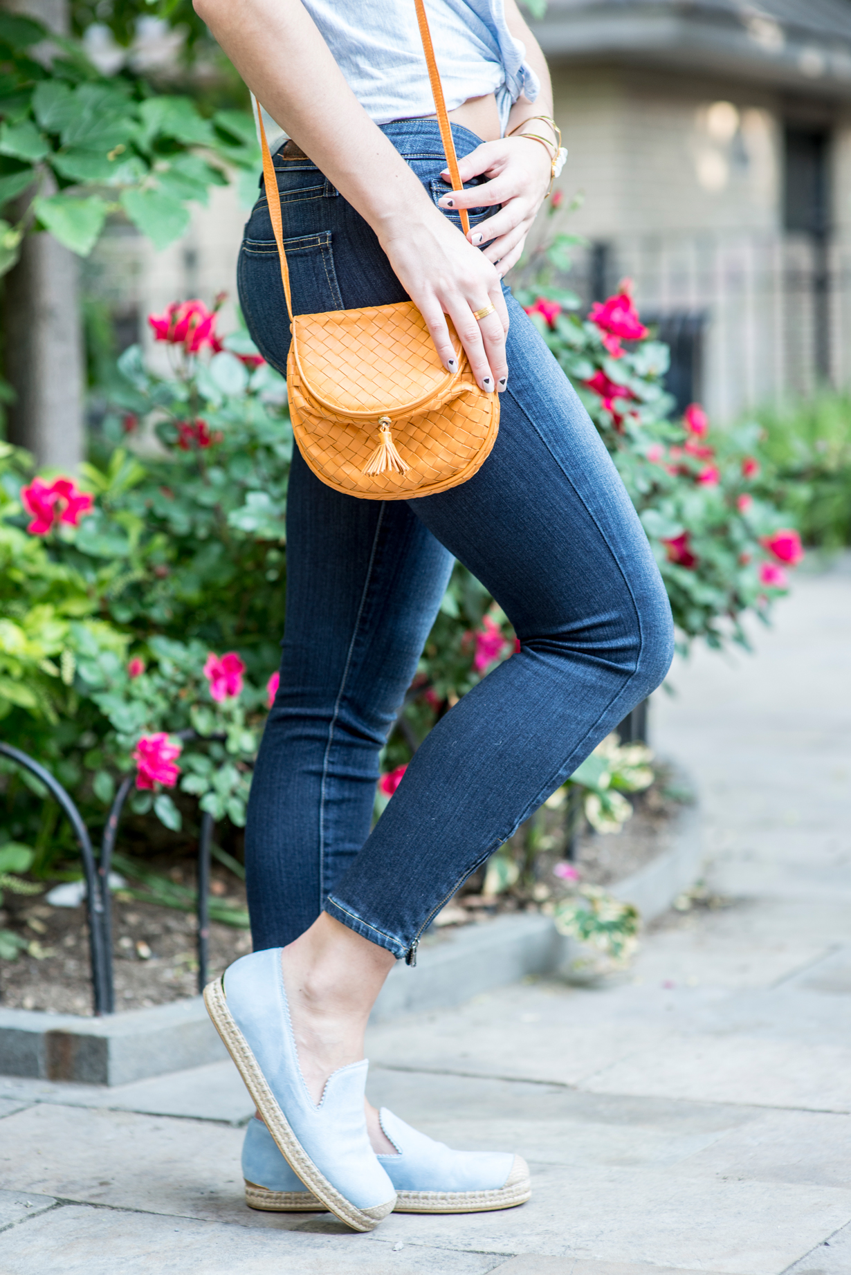 paige-denim-bottega-venetta-bag-stuart-weitzman