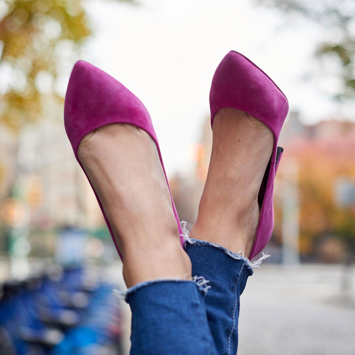 pink-suede-pumps