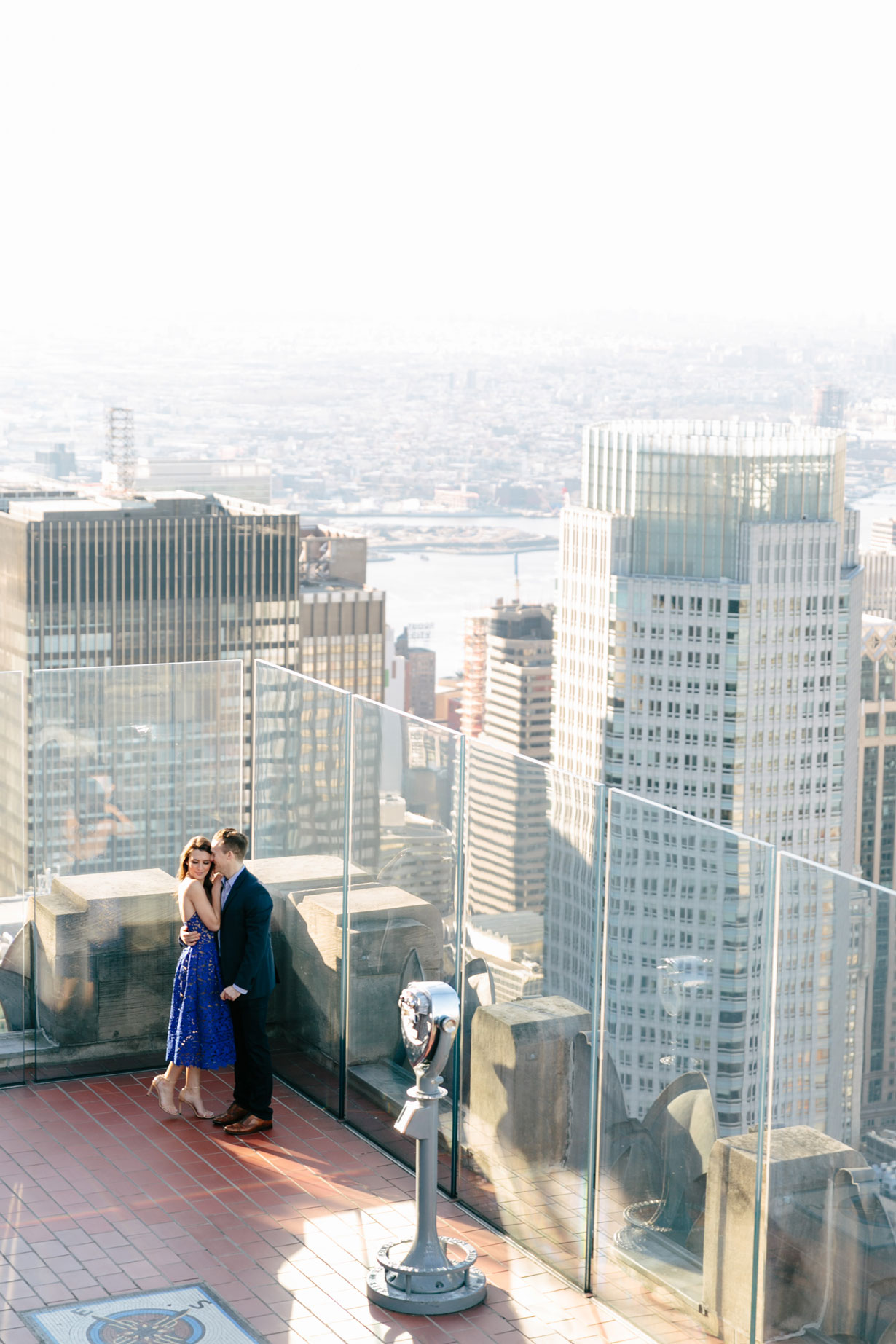Samantha Metell of Bonjour Blue Engagement Photos New York City