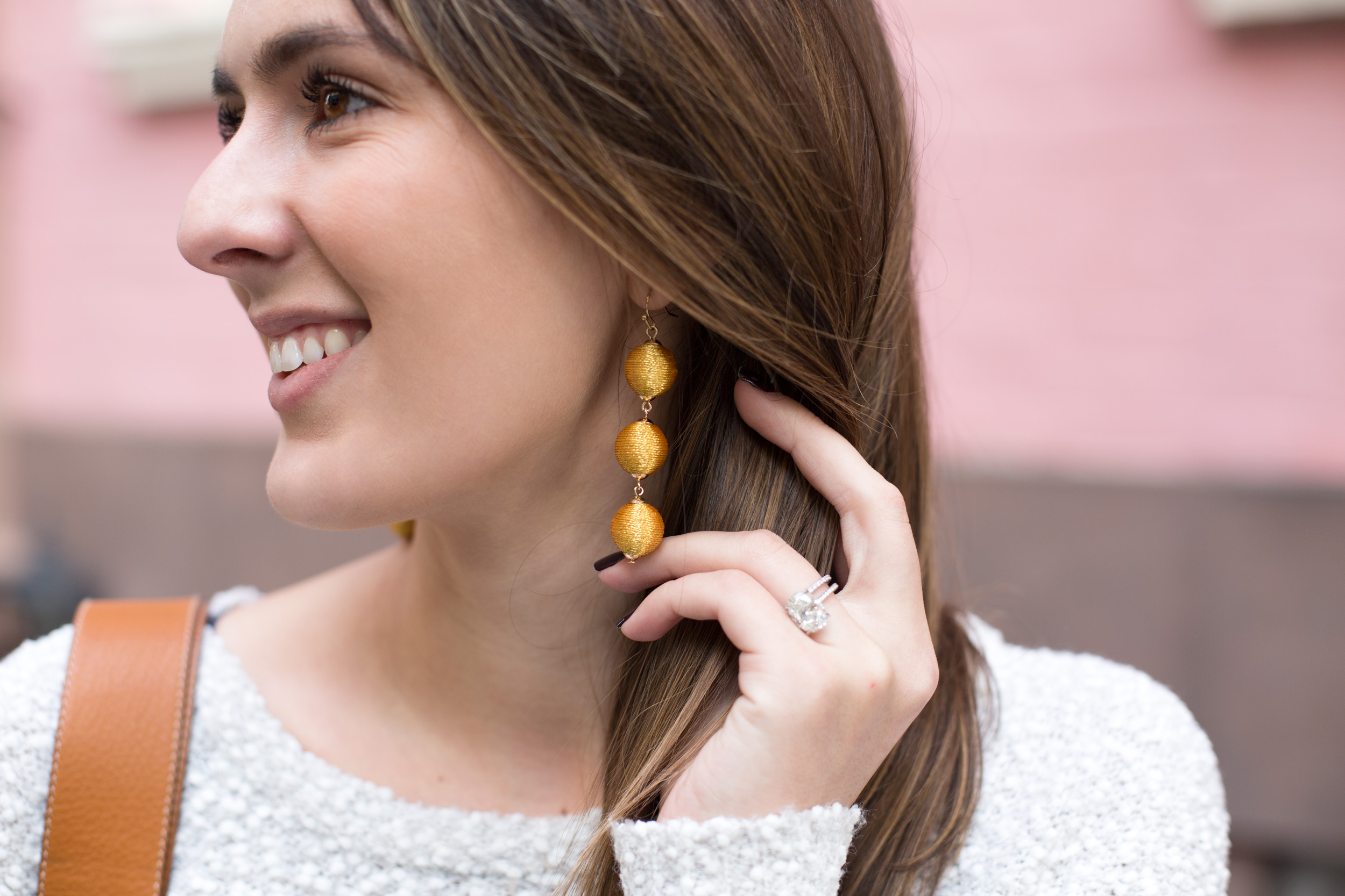 Style Blogger and Photographer Samantha Metell wearing Bauble Bar