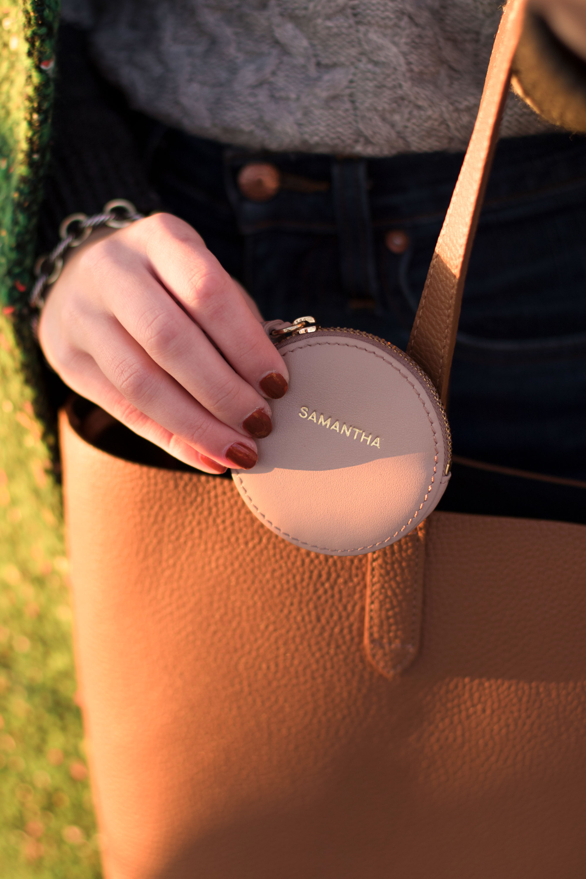 Samantha Metell of Bonjour Blue Partners with Cuyana