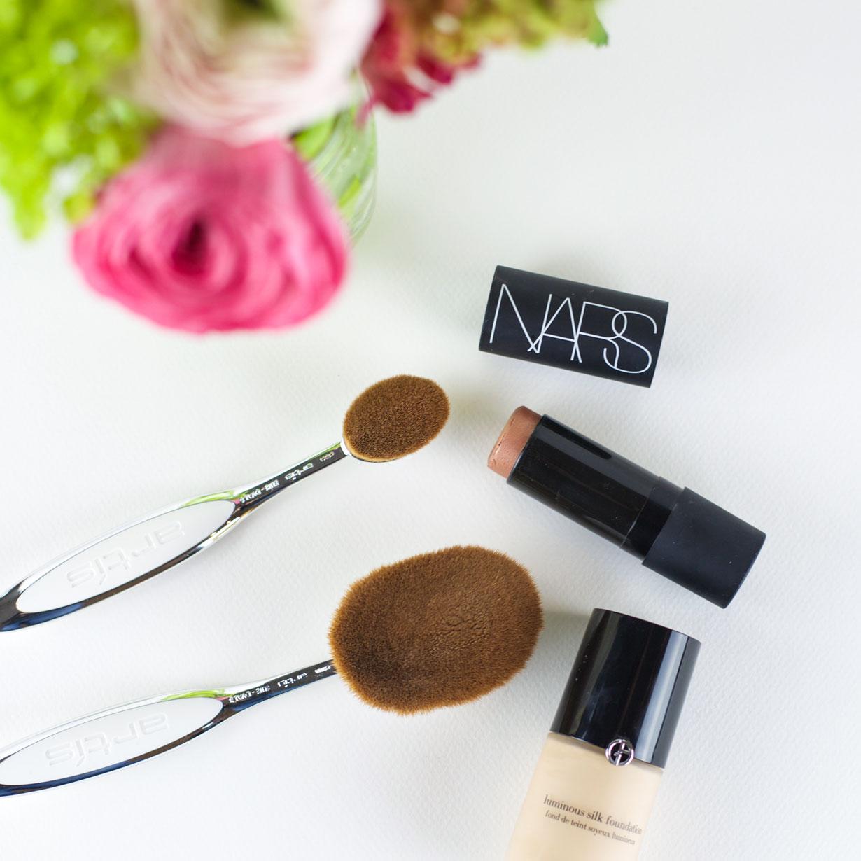 Artis Makeup Brushes Review Spring Beauty Bonjour Blue